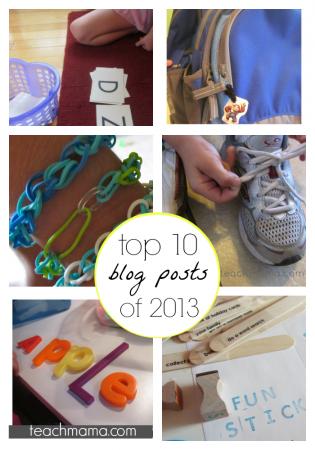 teachmama top 10 of 2013
