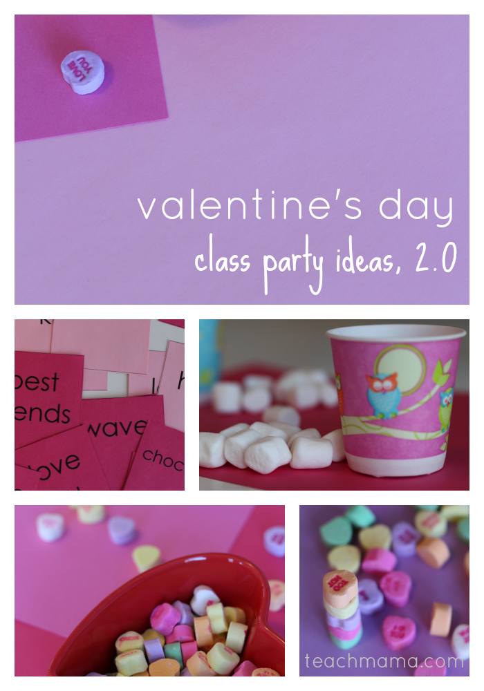 Classroom Party Ideas ~ Valentine s day class party ideas teach mama
