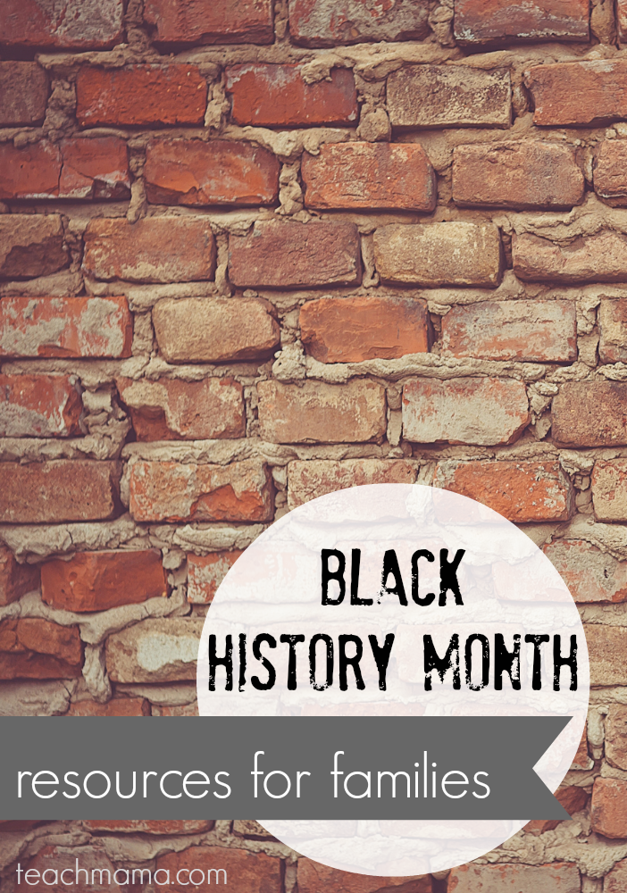 black history month resources for famillies