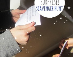 disney surprise scavenger hunt