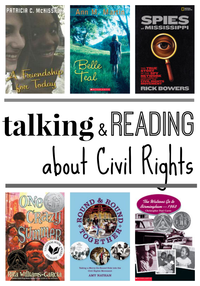 talking and reading about civil rights
