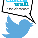 analog twitter wall to build relationships and digital citizenship