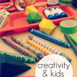 raising creative kids: target 'kid made modern' $150 giveaway