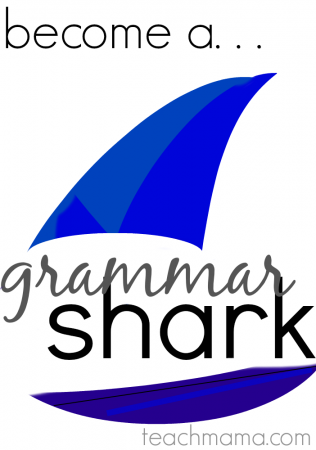 turn your kids into grammar sharks: national grammar day