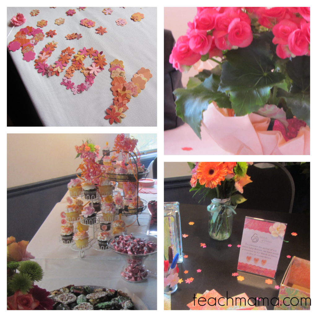 baby shower collage decorations | teachmama.com