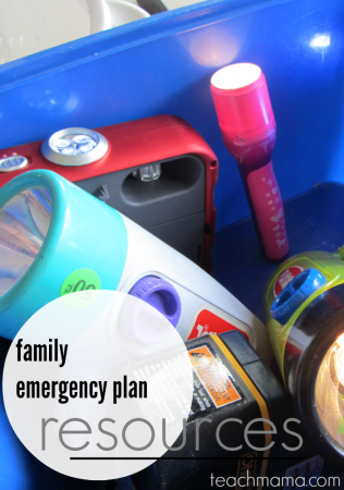 prepare a family emergency plan: be EVEREADY (and grab a few free books from Scholastic!)