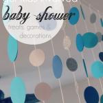 baby shower decorations, treats, & games: 3 ways to get your kids to help