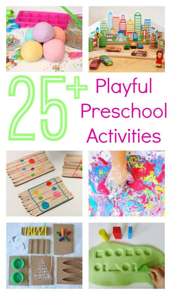 25+ playful preschool activities ebook | teachmama.com