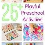 25+ playful preschool activities eBook