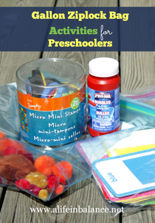 gallon ziplock bag activities for preschoolers