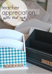 quick, cool teacher appreciation gifts