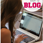 help kids start a blog: get them reading, writing, thinking, creating