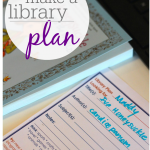 create a library plan: make the most of a trip to the library