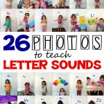 teach letter sounds using 26 kid-centered photos