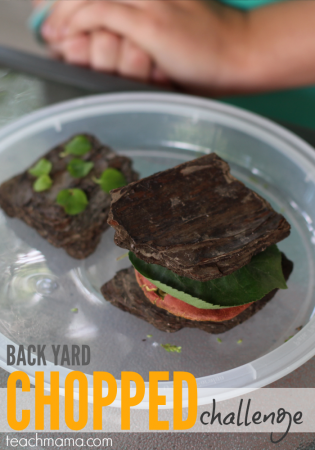 backyard chopped challenge: creative outdoor fun