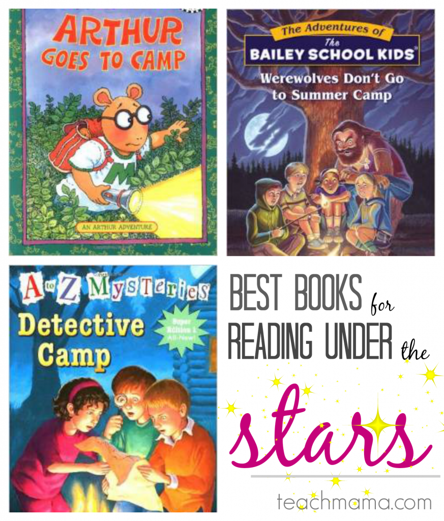 best books for reading under the stars | scholastic summer reading teachmama.com