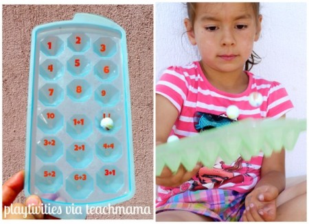 play with letters or numbers: cool summer learning for kids