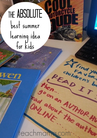 best summer learning idea for kids: tabletop surprises