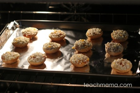 quick, kid-friendly after school snack: Bagel Bites | teachmama.com