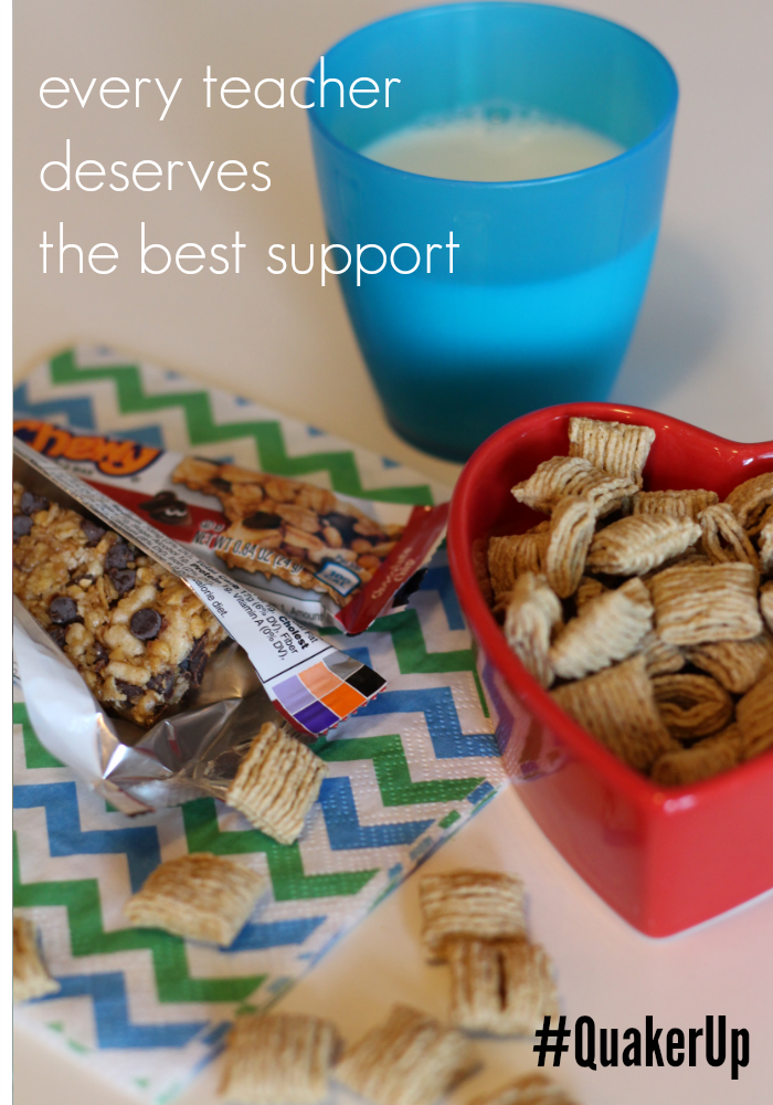 easy ways to support teachers 2 back to school #quakerup  teachmama.com
