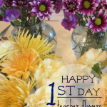 happy first day flowers for teachers, secretaries, or principal (& giveaway!)