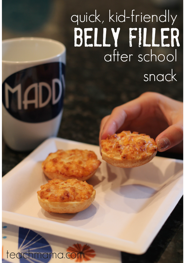quick, kid-friendly after school snack Bagel Bites teachmama.com