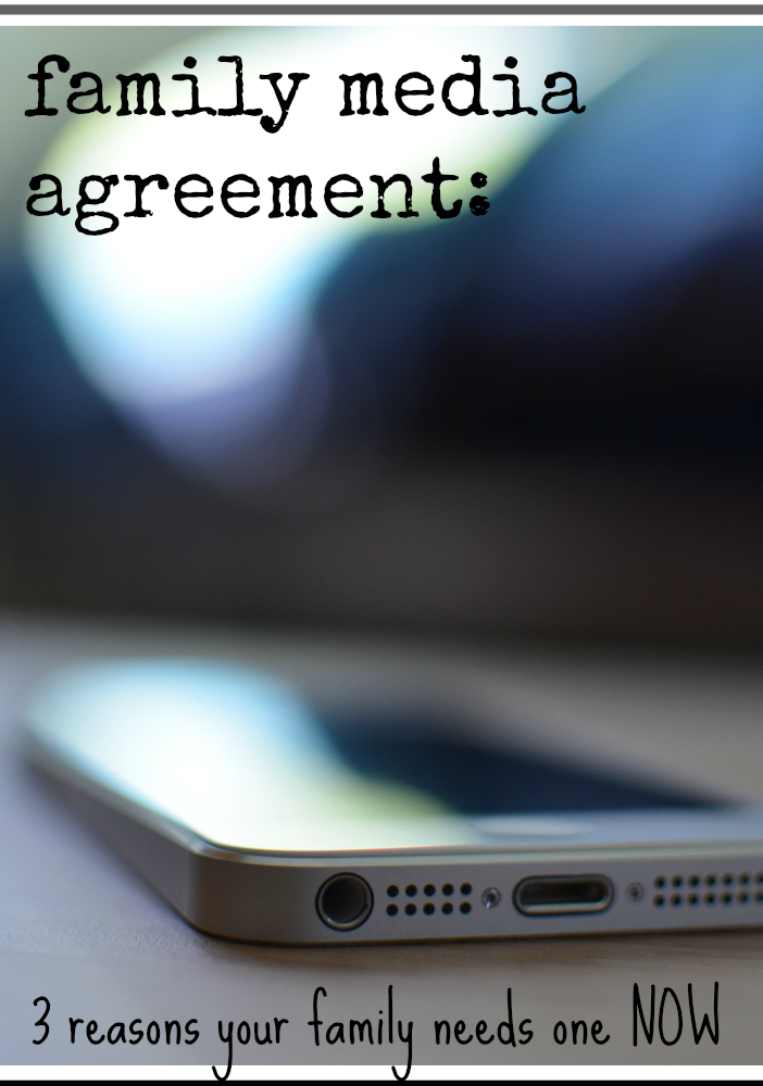 create a family media agreement | teachmama.com