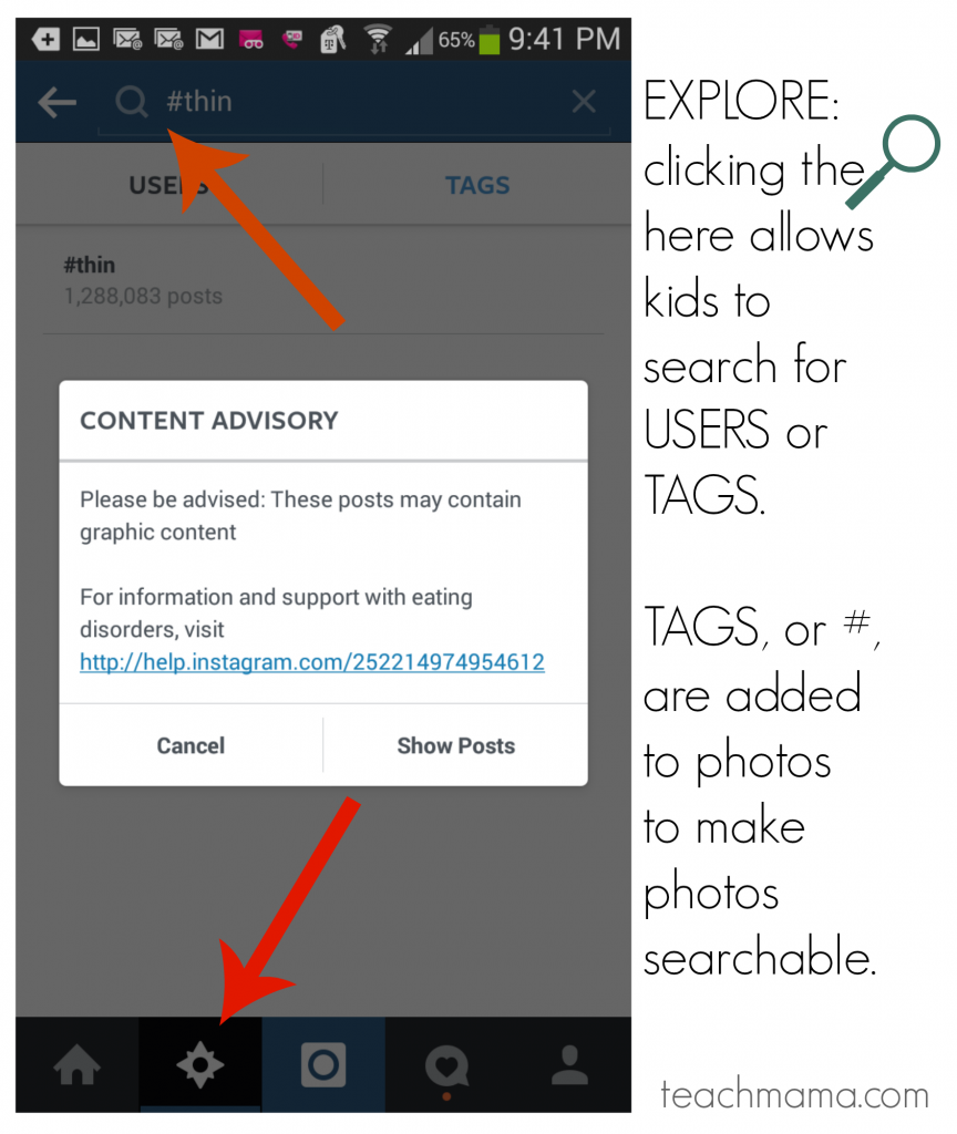 how to talk to kids about instagram   teachmama.com