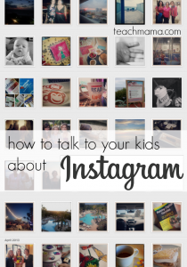 how to talk to your kids about instagram | teachmama.com #digitalliteracy #digitalkids