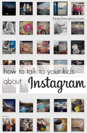 how to talk to your kids about instagram