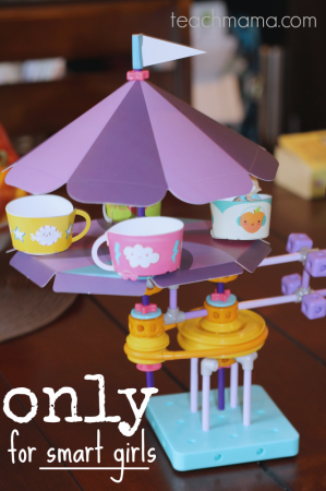 GoldiBlox for smart girls: read, create, and learn | teachmama.com for @goldibloxinc