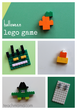 halloween lego game: unplugged, creative fun