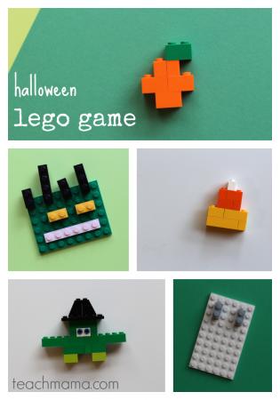 halloween lego game: unplugged, creative fun