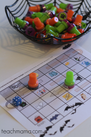 halloween printable board games for kids