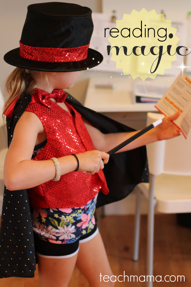 read magic tricks: cool, fun focused reading