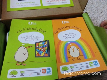 monthly craft gift for kids: kiwi crate