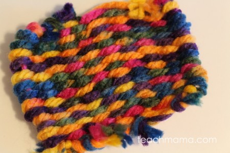 weave gifts for loved ones: kid friendly loom craft