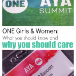 ONE girls & women: what you should know and why you should care