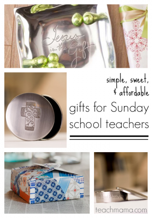 gifts for sunday school teachers or CCD teachers