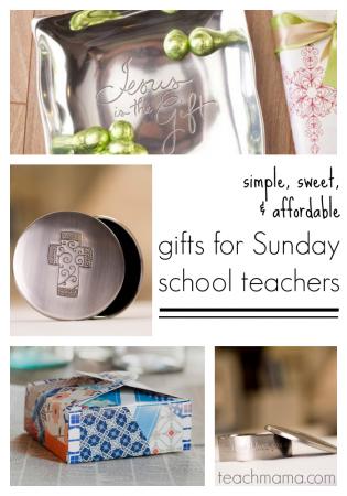gifts for sunday school teachers or CCD teachers