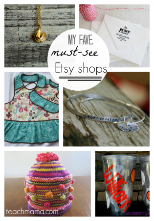 support small business saturday: teachmama faves