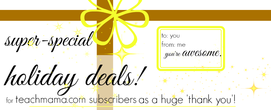 subscriber thank you long newsletter | teachmama.com