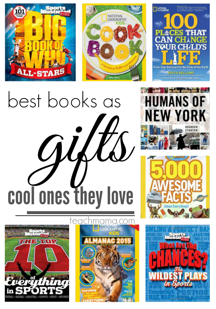 best books as gifts for family  teachmama.com cool books they love