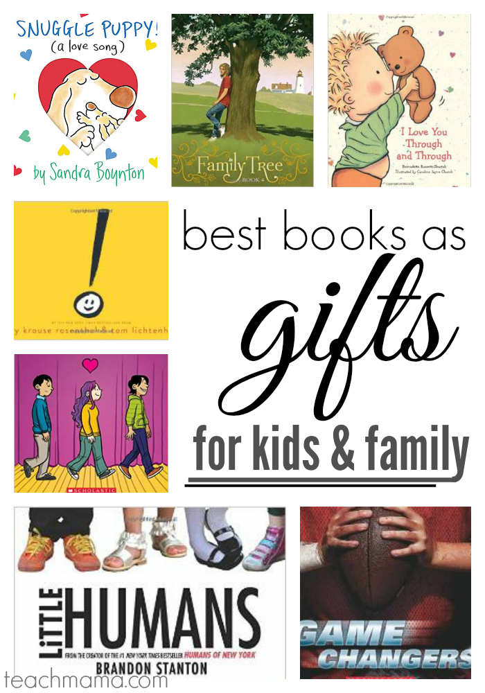 best books as gifts for family  teachmama.com cover