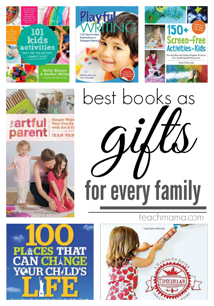 best books as gifts for family  teachmama.com family