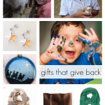 gifts that give back: ideas for kids and family