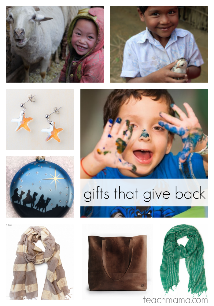 gifts that give back: ideas for kids and family | teachmama.com