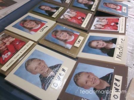 super-easy, homemade photo tiles