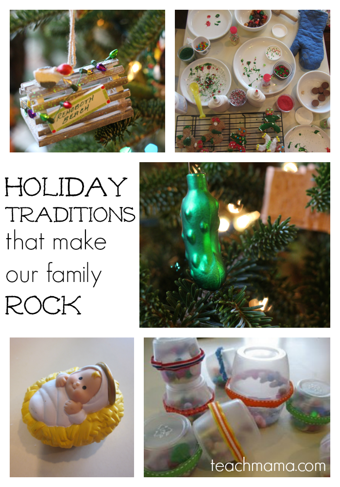 holiday traditions that make our family rock cover teachmama.com