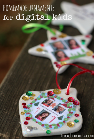 homemade ornaments for digital kids